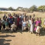 At the Remote Village Ikola